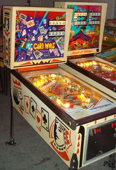 This is the pinball machine we grew up having! Remember @Jennifer Milsaps Tessem