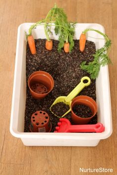 Spring sensory play activities for kids