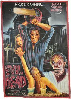 Evil Dead poster from Ghana