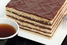 otlapos-kremes Serbian Recipes, Bulgarian Recipes, Serbian Food, Bulgarian Food, Kolaci I Torte, Cheesecakes, Tiramisu, Cupcake Cakes, Cupcakes