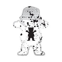 Boo Johnson Splatter Sticker