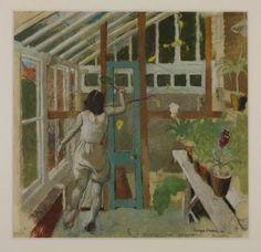 'Study for Decoration, Flight' (1930) by English painter Evelyn Dunbar (1906-1960). via Figuration Feminine