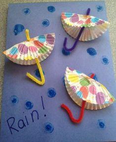 Potrebbe non piovere, ma questo non ci impedisce di realizzare questi 20 mestieri ombrello per bambini!  Dagli ombrelli che si aprono e chiudono gli ombrelloni che si possono mangiare - abbiamo tutto!