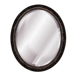 Found it at Wayfair - Baroque Oval Mirror