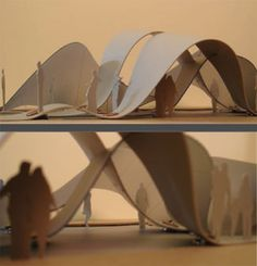 how to make architectural models out of paper - Google Search