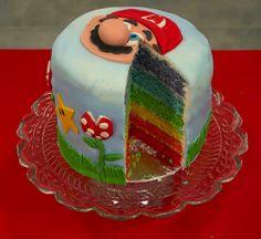 Retour en enfance   Rainbow cake Mario Bros [en vidéo fashion] photo