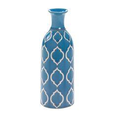 MERIT PALE BLUE VASE DECOR NEW~10016515