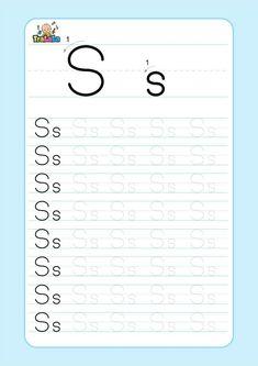 Handwriting Practice Free, Alphabet Writing Practice, Writing Practice Worksheets, Preschool Learning Activities, Homeschool Kindergarten, Kindergarten Writing, Preschool Math, Pattern Worksheets For Kindergarten, Printable Preschool Worksheets