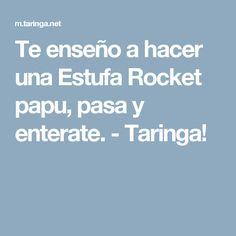 Te enseño a hacer una Estufa Rocket papu, pasa y enterate. - Taringa!