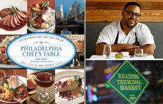 Reading Terminal Market Book Signing and Cooking Demo Event with April White and Kevin Sbraga.  Mon, October 8, 5:30 - 7:00pm in La Cucina  #SEPTA Routes: 4, 10, 11, 13, 16, 17, 21, 23, 33, 34, 36, 38, 42, 47, 48, Market-Frankford Line, Broad Street Line