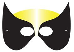 Free Superhero Printables - Superhero Printable Masks, Logos and more.