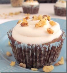 Vanilla Bean Quinoa Flour Cupcakes with Maple Coconut Frosting - gluten free, vegan