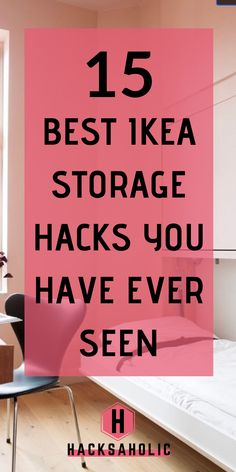 There is never enough storage! But with the right Ikea storage hack you can create stunning, inexpensive storage easily. There are a ton of awesome Ikea storage hacks ideas out there so you will… Ikea Billy Hack, Ikea Kallax Hack, Ikea Billy Bookcase Hack, Eco Furniture, Ikea Furniture Hacks, Ikea Hacks, Ikea Kitchen Organization, Kitchen Storage Hacks, Organisation Hacks