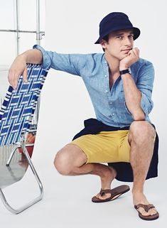 Clement Chabernaud for J.CREW Summer 2016
