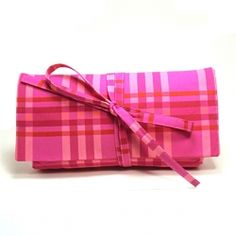 Hot pink plaid is the jam for spring!