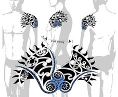 TATTOO TRIBES: Tattoo of Sun shoulder, Maori cover-up tattoo,sun maori turtle tiki tattoo - royaty-free tribal tattoos with meaning Maori Tattoos, Polynesian Tribal Tattoos, Maori Tattoo Designs, Body Art Tattoos, Sleeve Tattoos, Small Quote Tattoos, Cute Small Tattoos, Tattoos For Daughters, Tattoos For Guys