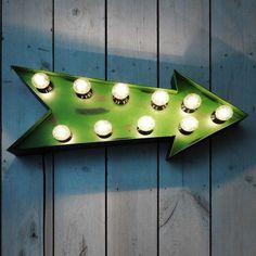 fairground arrow lights, graham and green