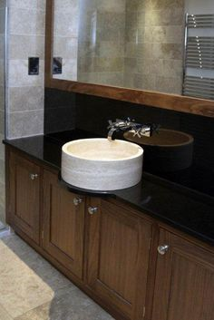 Wet room basin