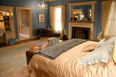 Gossip Girl Interiors | Shelterness  Blair Room
