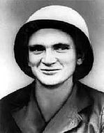 Pfc. Thomas Eugene Atkins was born in 1921 in South Carolina. In March 1945, he found himself with 2 other GIs in a foxhole on a ridge outside his platoon's perimeter defense in the Philippines when two companies of Japanese attacked with rifle and machine-gun fire, grenades and TNT charges. Private Atkins was wounded in the hip, leg and back, and the two soldiers alongside him were killed.  Despite pain from deep wounds, Atkins returned heavy fire and repulsed the first attack, and then, in...