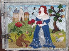 Embroidered Casket