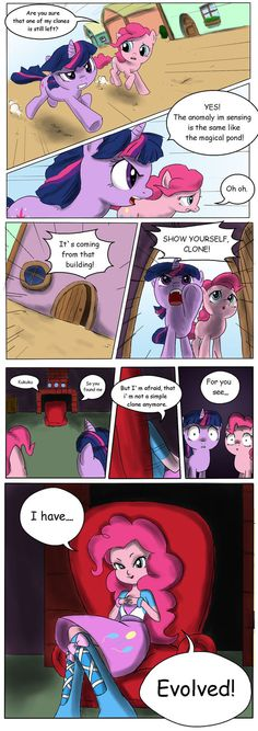 We all know that Pinkie is a mare of many talents. Pinkie`s color should be correct now. Copyright of My little Pony: Frien. Pinkie`s talent Mlp Comics, Funny Comics, Mlp Memes, My Little Pony Comic, Little Poney, Mlp Pony, My Little Pony Friendship, Twilight Sparkle, Fluttershy