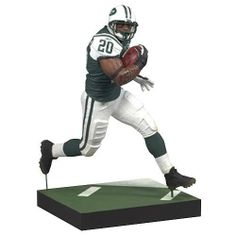 """McFarlane Toys NFL Sports Picks Series 21 Thomas Jones by McFarlane Toys. $8.99. Figure stands at 5"""" tall. Action figure debut of thomas jones. Photorealistic representation of star running back thomas jones. Feature 4 points of articulation. Comes with ball and base. From the Manufacturer McFarlane Toys NFL Sports Picks Series 21 Action Figures Bring Every Detail of Your Favorite NFL Superstars to Life. Sculpted in 6""""Scale and Game-Accurate in Every Detail, Sports..."""