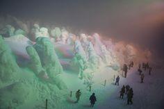 Japan snow monsters