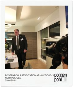 Poggenpohl presentation at NU Kitchens