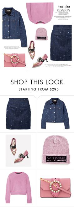 """Star Outfit #3: Miu Miu x Alexander Wang x The Elder"" by mariluz-garcia ❤ liked on Polyvore featuring Miu Miu, Alexander Wang, The Elder Statesman, H&M and StarOutfits"