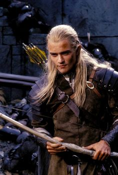 Legolas is amazing. I can't even get over him, even though it's been a decade of fangirling.