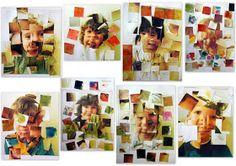 les petites têtes de l'art: Jouer avec son image