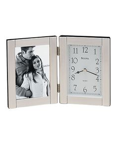 Bulova Clock, Picture Frame - Clocks - for the home - Macy's