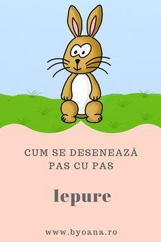 Iepure - cum se deseneaza, #desen pas cu pas #learntodraw #drawing Emoji, Winnie The Pooh, Disney Characters, Fictional Characters, Coloring, Winnie The Pooh Ears, The Emoji, Pooh Bear, Fantasy Characters