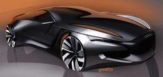 Audi concept sketch