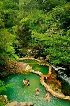 Piscinas termais, Costa Rica