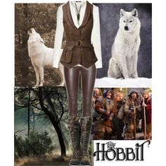 Being a 'Skin-changer' in the Hobbit by alpacaamazing on Polyvore featuring Givenchy, Alex and Chloe, TheHobbit and skinchanger