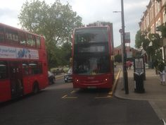 https://flic.kr/p/Hye3Xt | 9460 on the E9 | London Bus route E9 has been recently converted to double deck. Here is Abellio London's Alexander Dennis Enviro 400 out on the E9.