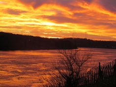 I miss these beautiful cape cod canal sunsets!