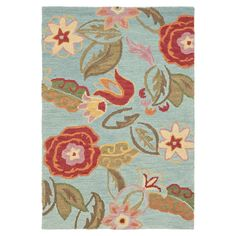 Shop Safavieh  BLM675A Blossom Area Rug, Blue / Multi at Lowe's Canada. Find our selection of area rugs at the lowest price guaranteed with price match + 10% off.