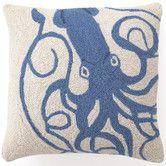 Found it at AllModern - Squid Wool Throw Pillow