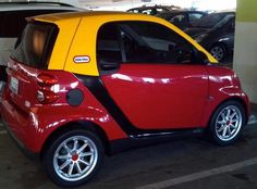Adult Sized Little Tikes Fisher Price Car!!!  (from a smart car) HOW AWESOME?!