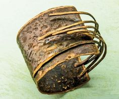 Make Easy Metal Jewelry: 5 Tips and Encouragements to Help You Make the Leap - from Jewelry Making Daily: Bronze Age cuff by Linda Larsen from Easy Metal Jewelry