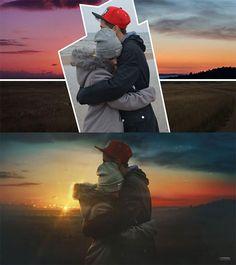 ロシア在住の写真レタッチ愛好家 Max Asabin は、彼の Photoshop のあるデザインテクニックで話題となっています。作品の多くは、複数の写真を組み合わせ、映画のような世界観を違和感なく表現しています。