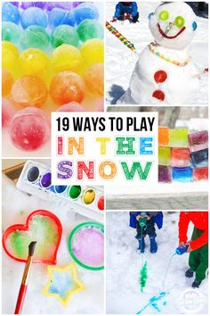 19 Ways to Play in the Snow
