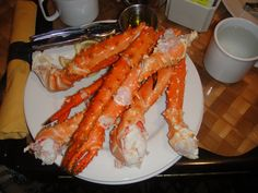 Oh, the crab legs...