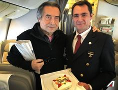 From #Tokyo with a great ambassador of the italian excellence. Have you on board was an honor maestro #RiccardoMuti.