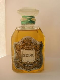 "Ultra Rare & Vintage ""GARDENIA"" Guerlain Perfume ""FULL and SEALED""!!!"