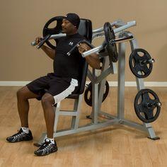 LVSP - Leverage Shoulder Press - Body-Solid Fitness