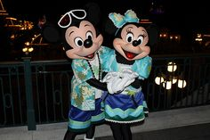 Mickey and Minnie Hawaii Vacation
